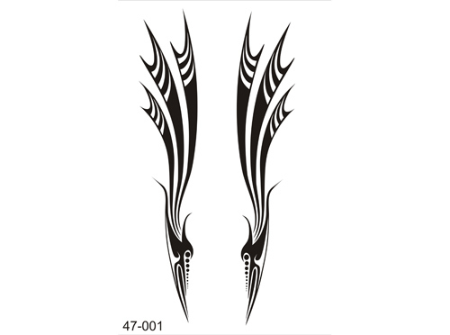 Airbrush Tatoo Schablone 47-001