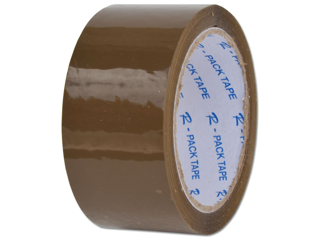 6x klebeband (paketband, packband, paketklebeband) acryl braun - 48