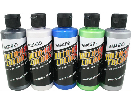 Auto Air Colors Pearlized Set 120ml