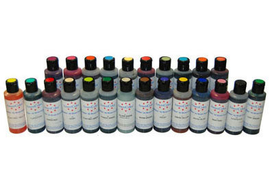 24 Airbush LEBENSMITTELFARBEN-Set AmeriColor AmeriMist (24x133ml)