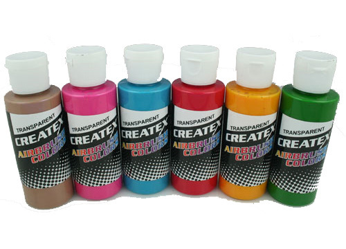 Createx Tropical Airbrush Set