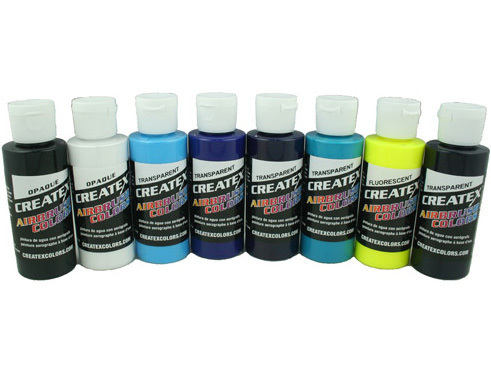 Createx Ken Lind - Cool Airbrush Colors Set