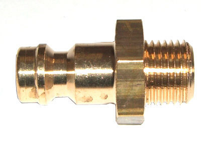 "Stecknippel mit 1/8"" Anschluss Createx (Nipple DN 5 with 1/8"" external thread)"