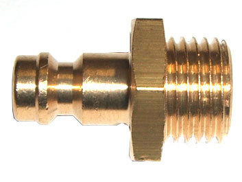 "Stecknippel mit 1/4"" Anschluss Createx (Nipple DN 5 with 1/4"" external thread)"