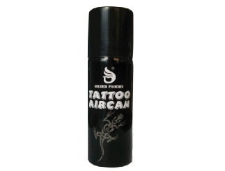 Airbrush Tatoo Farbe SPRAY Fengda black 120ml
