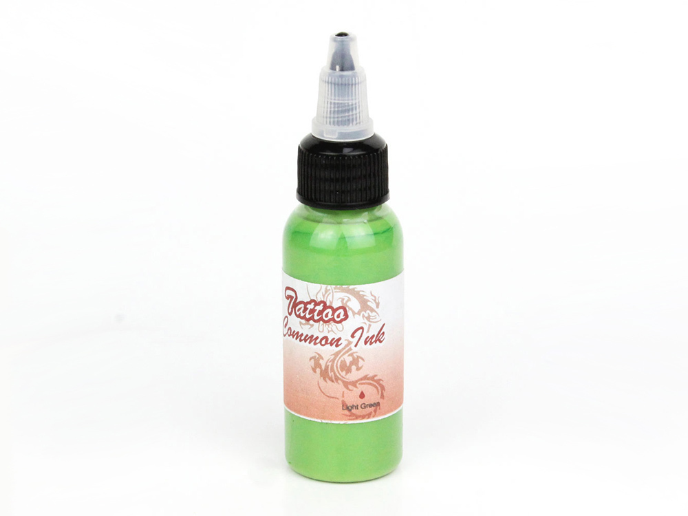 Airbrush Tatoo Farbe Fengda light green 100 ml