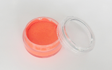 Fluoreszenzfarbe für Körperbemalung Fengda body painting orange red 10 ml