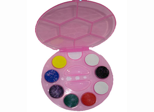 Palette Body - face painting 8 Farben / 2g