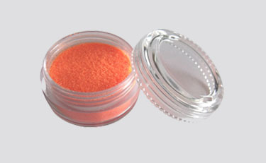 Schimmerndes UV Pulver Fengda Glitter orange 10 ml