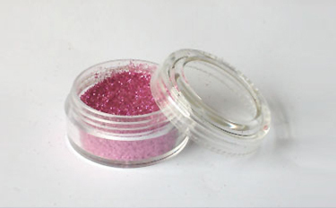 Schimmerndes Pulver Fengda Glitter Light red 10 ml