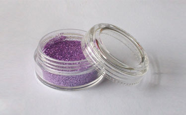 Schimmerndes Pulver Fengda Glitter Violaceous 10 ml