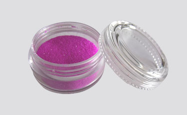 Schimmerndes UV Pulver Fengda Glitter purple 10 ml