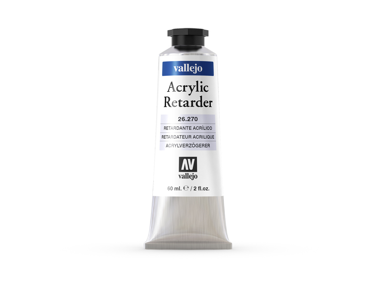 Vallejo 26270 Acrylic Retarder (60ml)