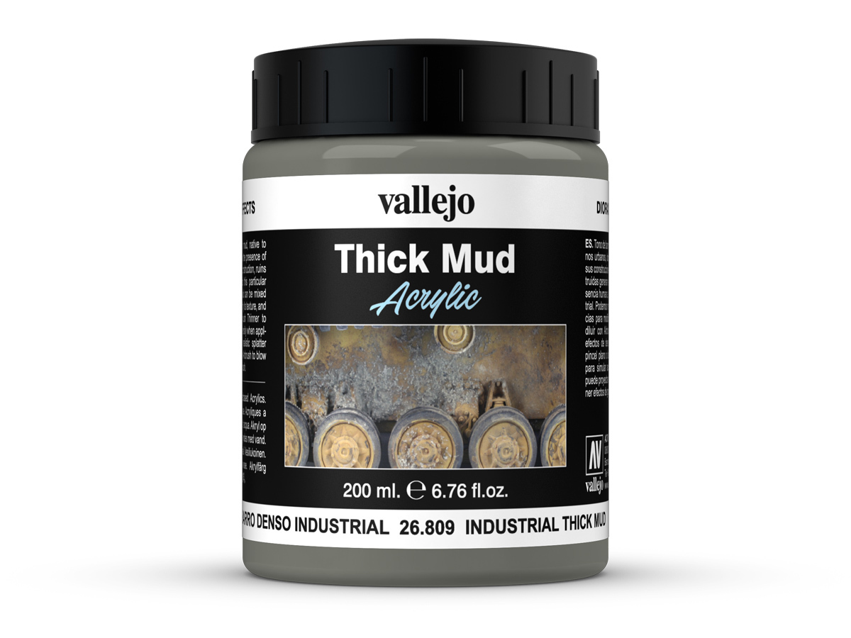 Vallejo Diorama Effects 26809 Industrial Thick Mud  (200ml)