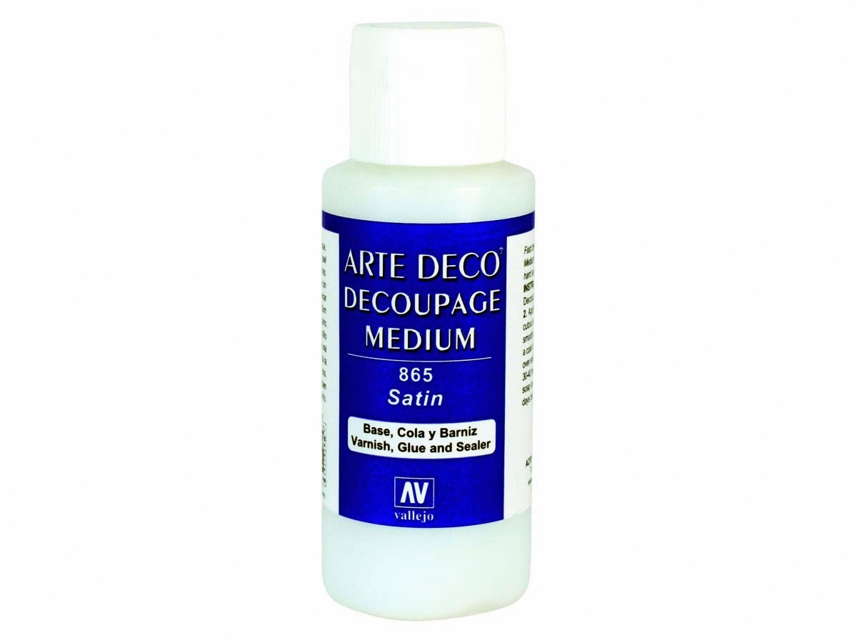 Vallejo 26865 Decoupage Medium (60ml)