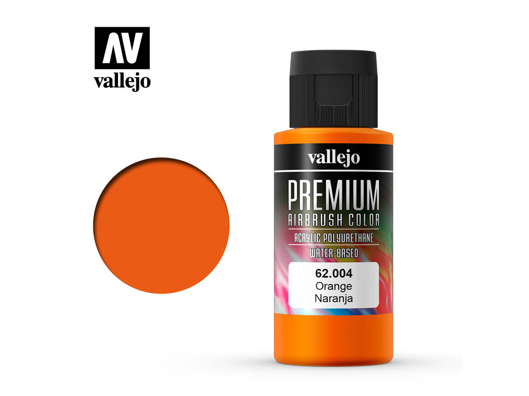 Farbe Vallejo PREMIUM Color 62004 Orange (60ml)