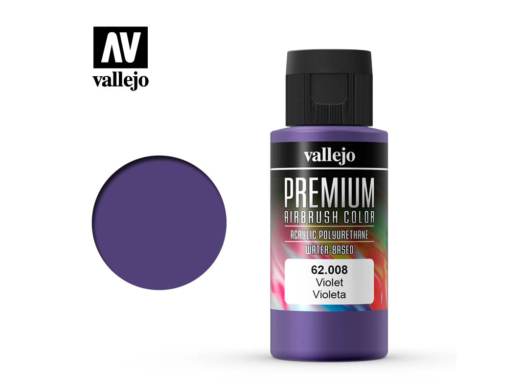Farbe Vallejo PREMIUM Color 62008 Violet (60ml)