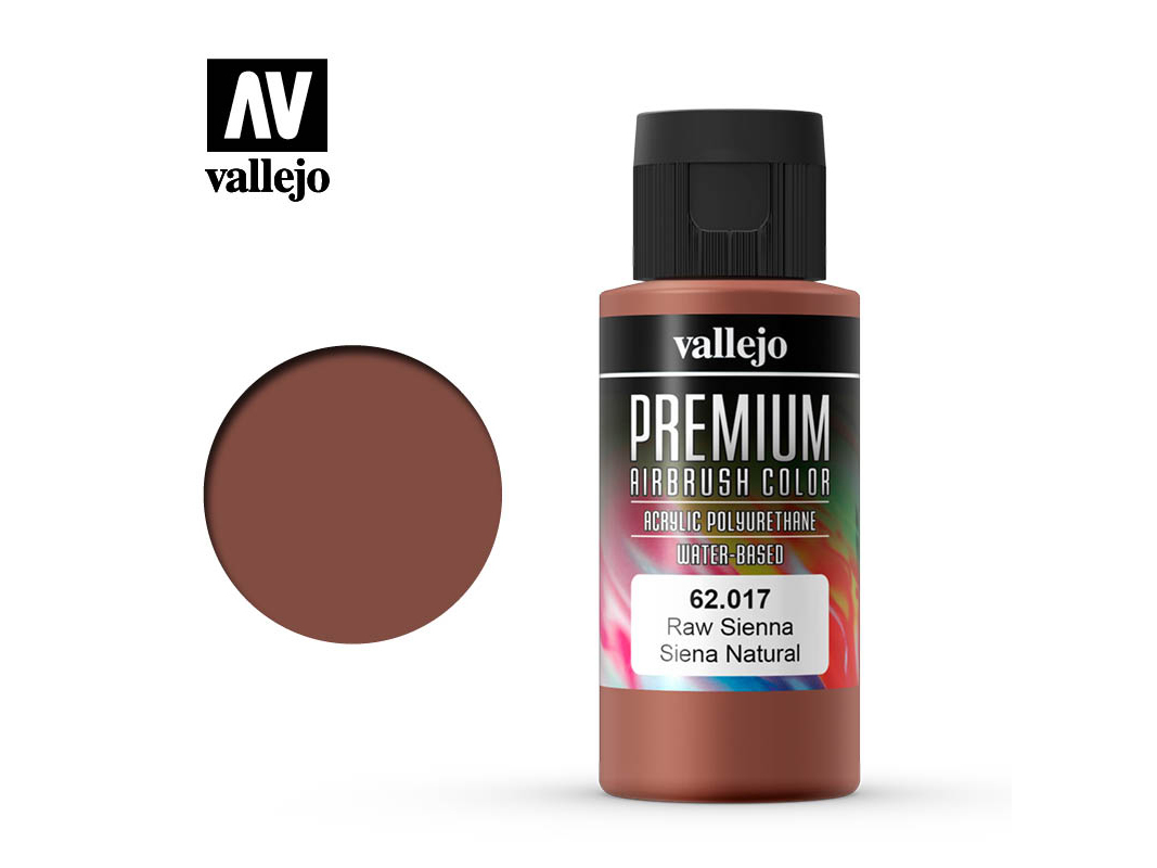 Farbe Vallejo PREMIUM Color 62017 Raw Sienna (60ml)