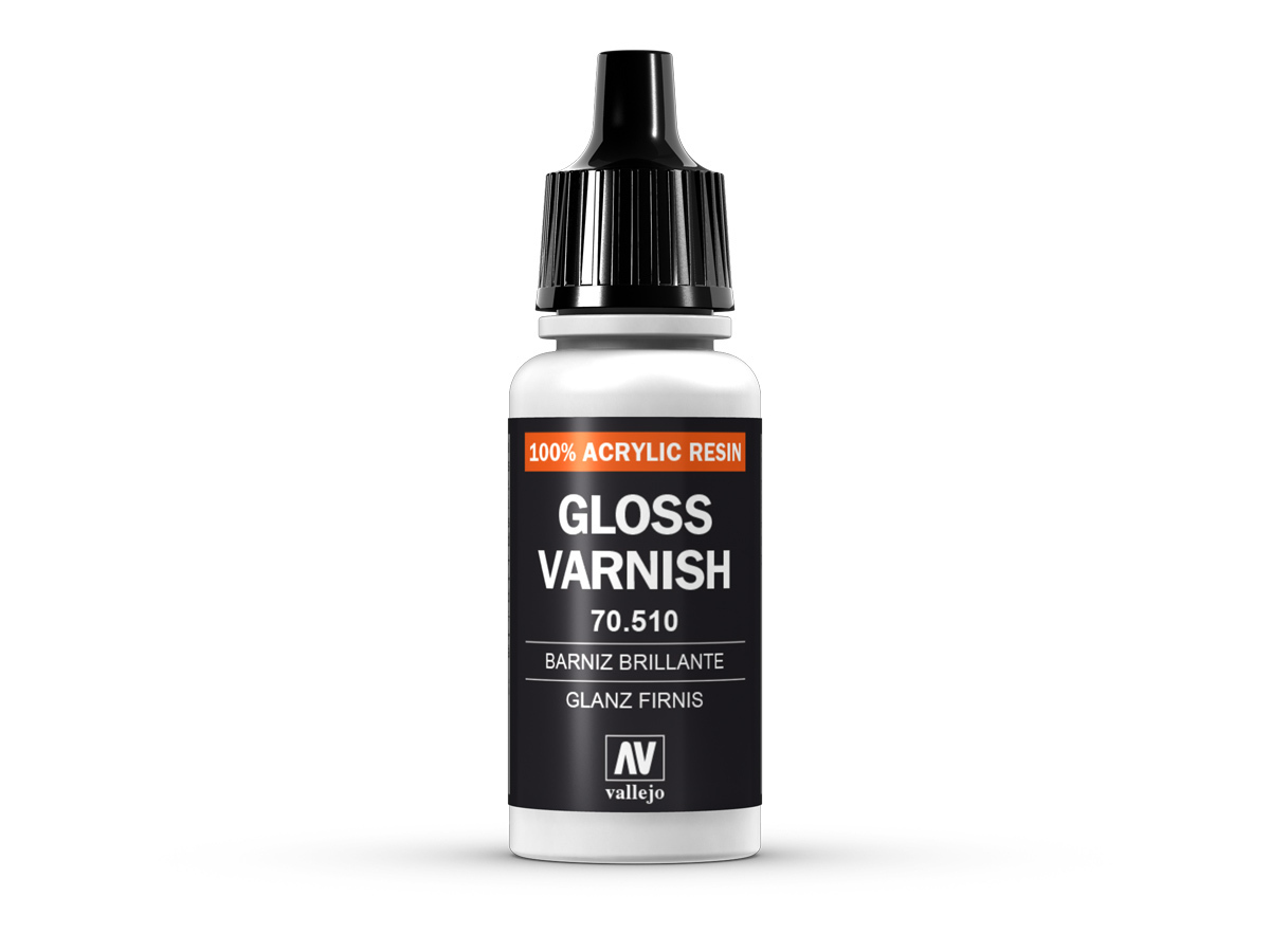 Vallejo 70510 Permanent Gloss Varnish (17ml)