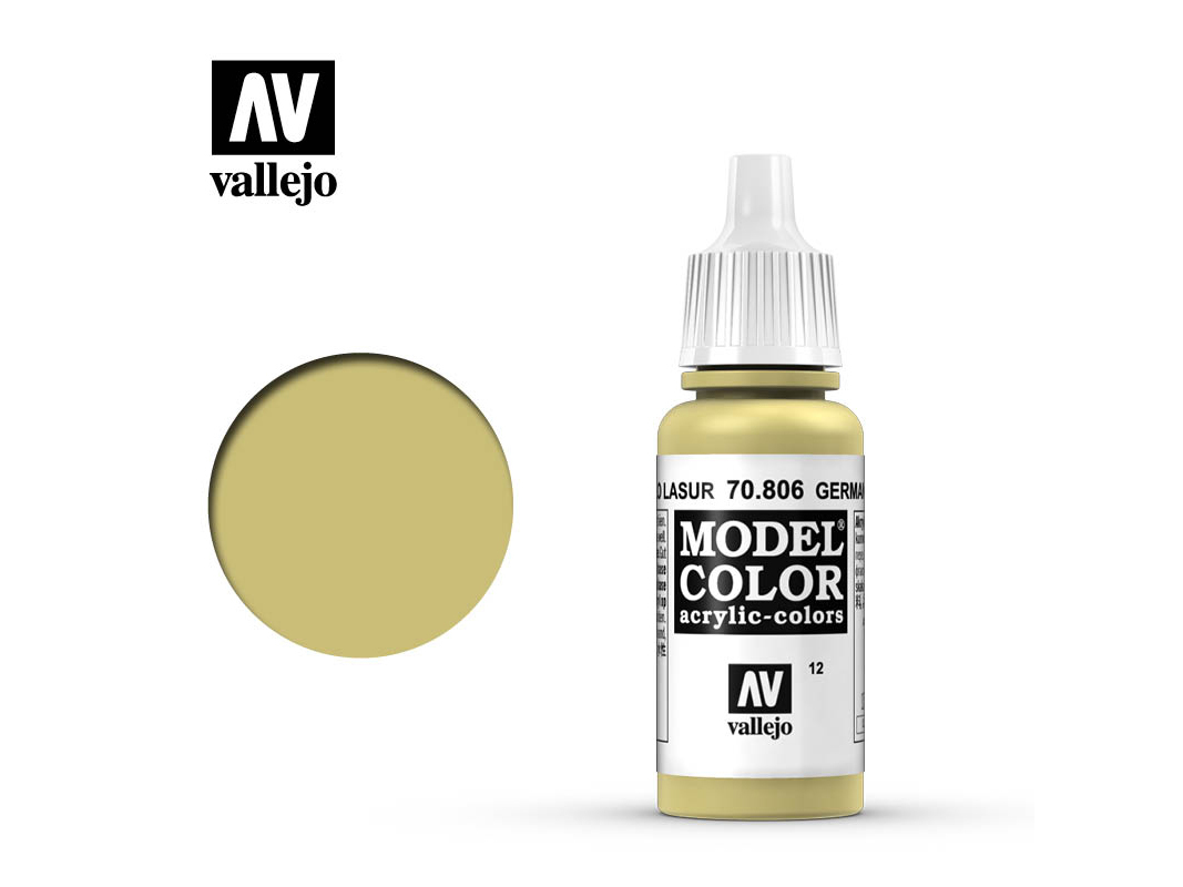Farbe Vallejo Model Color 70806 German Yellow (17ml)