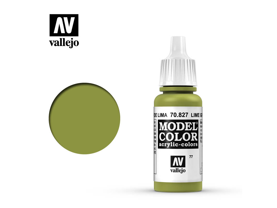 Farbe Vallejo Model Color 70827 Lime Green (17ml)