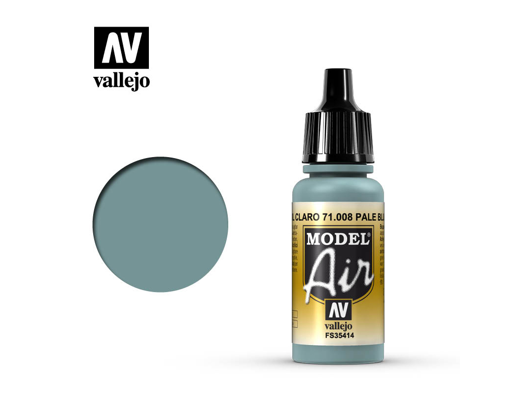 Farbe Vallejo Model Air 71008 Pale Blue (17ml)