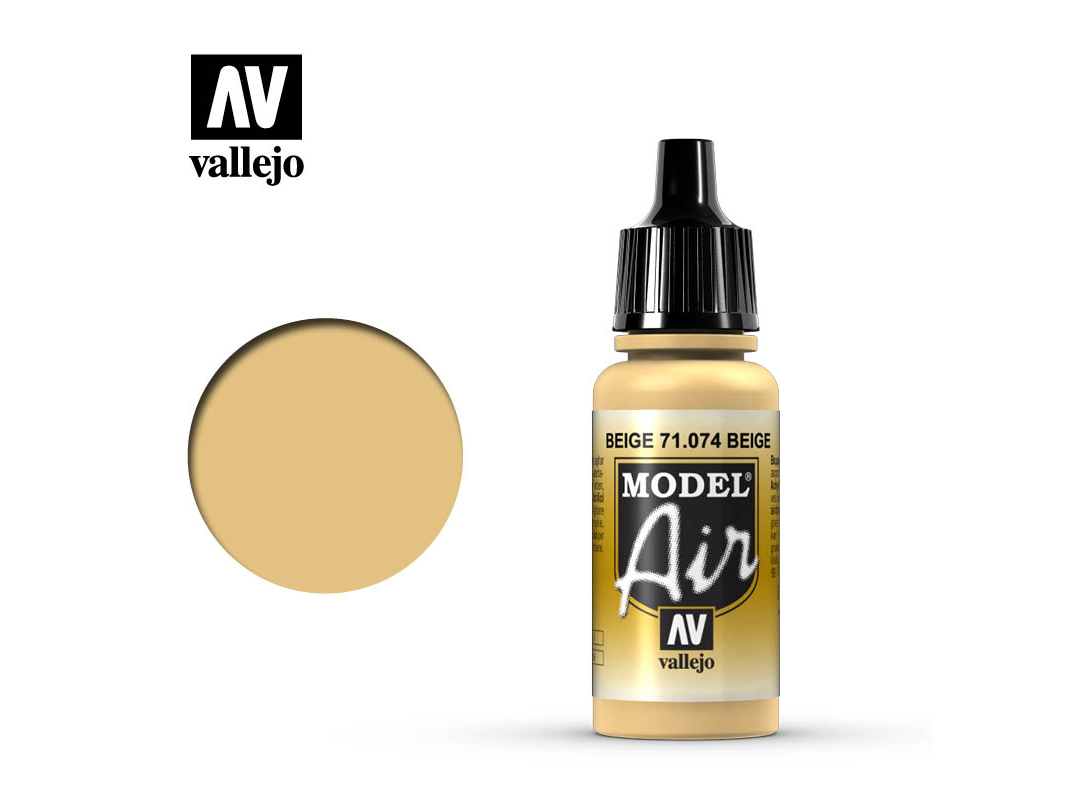 Farbe Vallejo Model Air 71074 Beige (17ml)