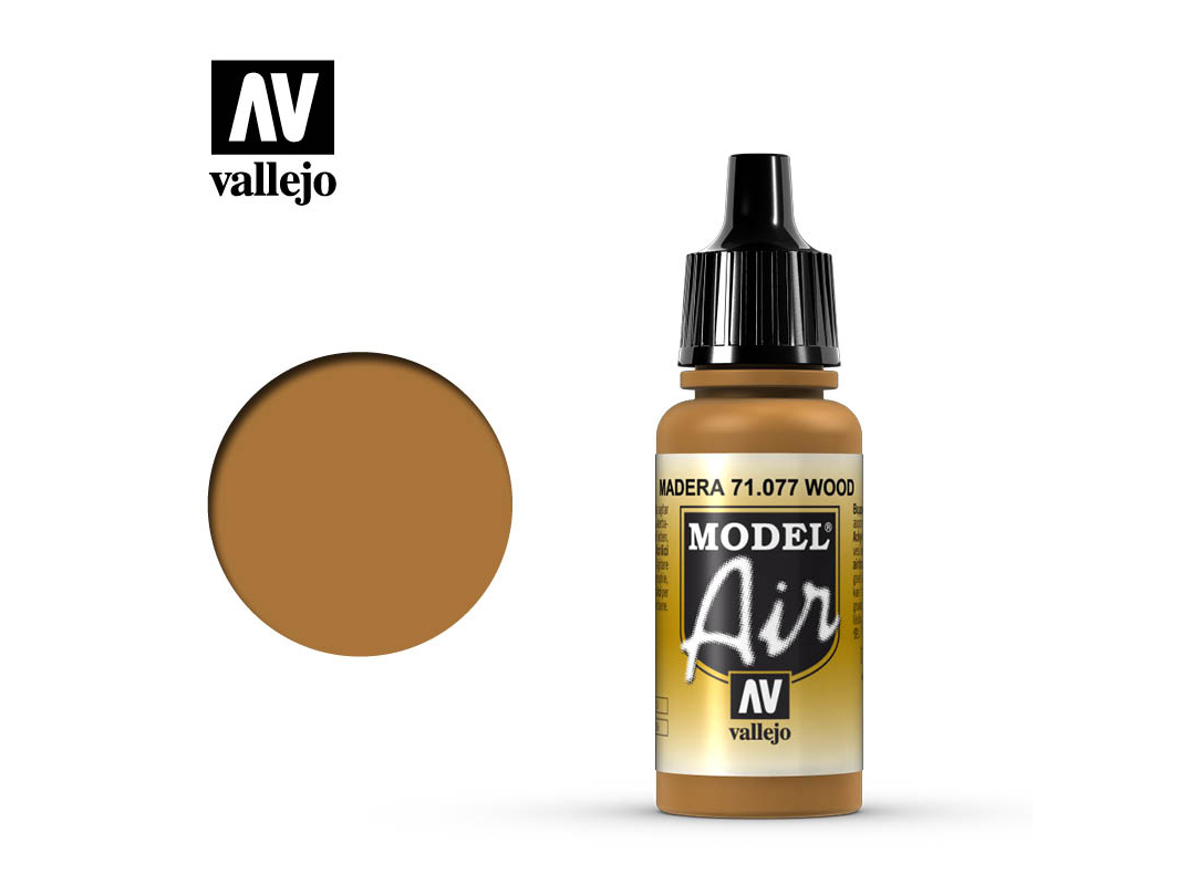 Farbe Vallejo Model Air 71077 Wood (17ml)