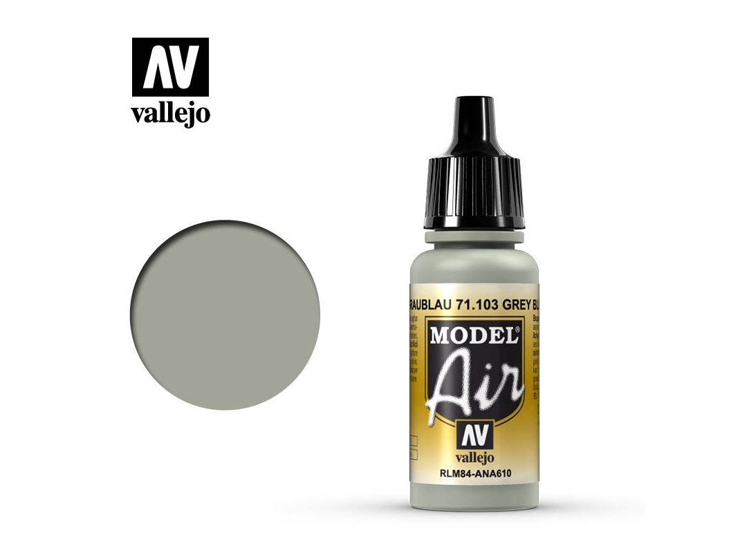 Farbe Vallejo Model Air 71103 Gray Blue RLM84 (17ml)