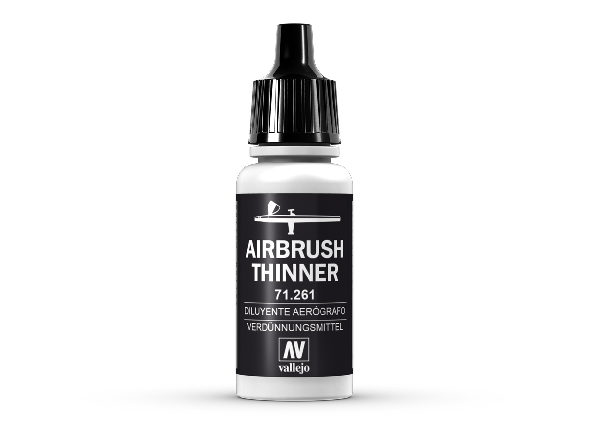 Vallejo 71261 Airbrush Thinner (17ml)