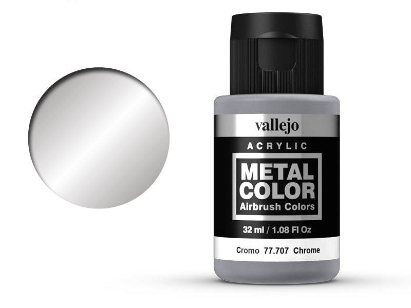 Farbe Vallejo Metal Color 77707 Chrome (32ml)