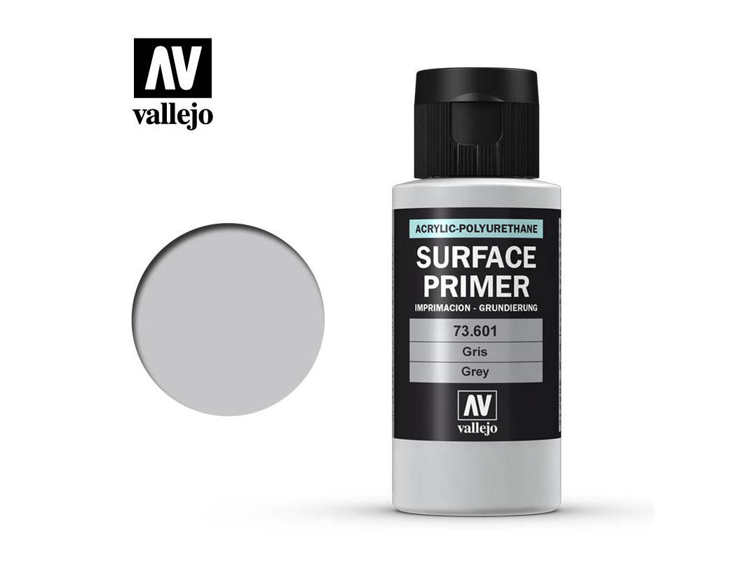 Vallejo Surface Primer 73601 Grey (60ml)