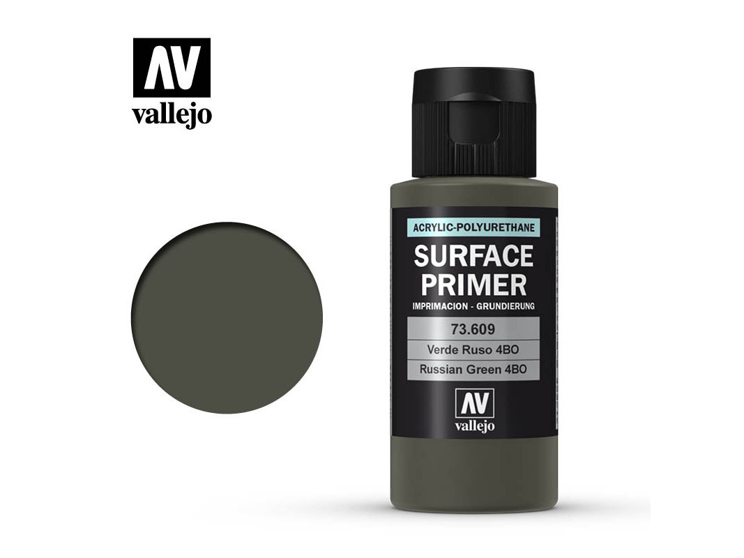 Vallejo Surface Primer 73609 Russian Green 4BO (60ml)