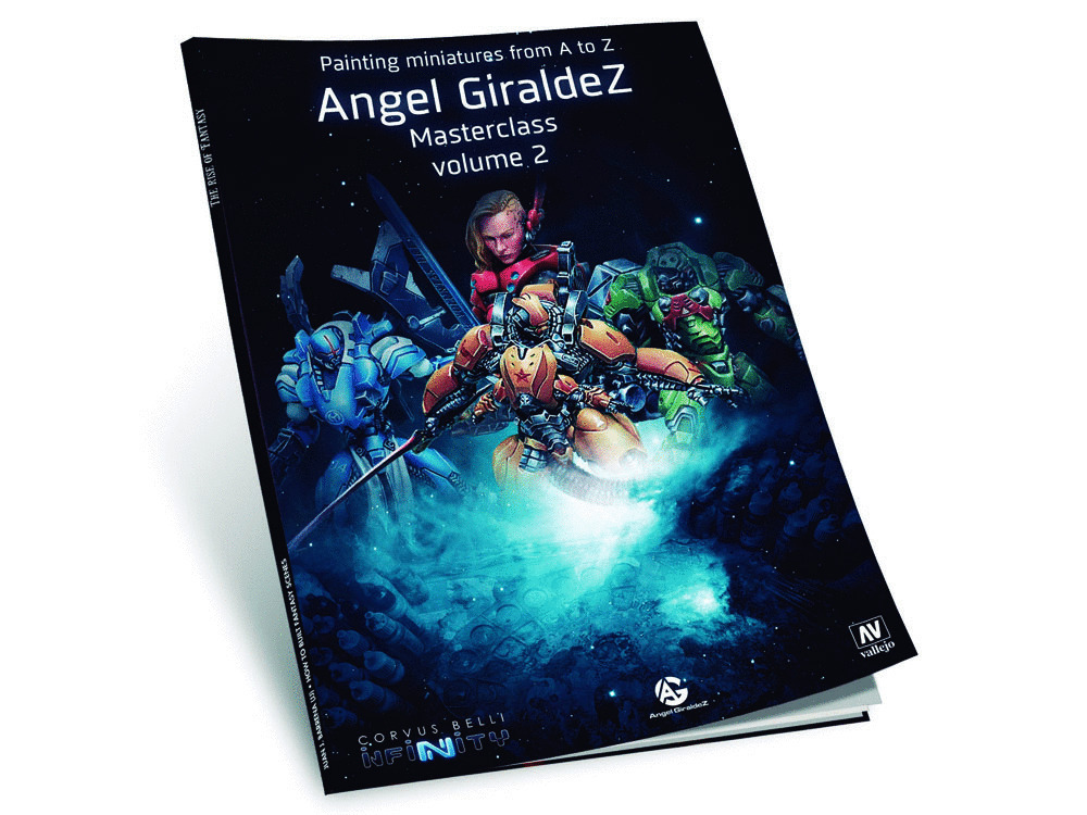 Vallejo 75010 Book: Painting Miniatures A.Giraldez Vol.II