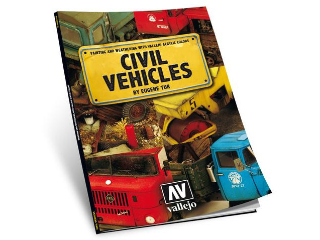 Vallejo 75012 Book: Civil Vehicles by Eugene Tur