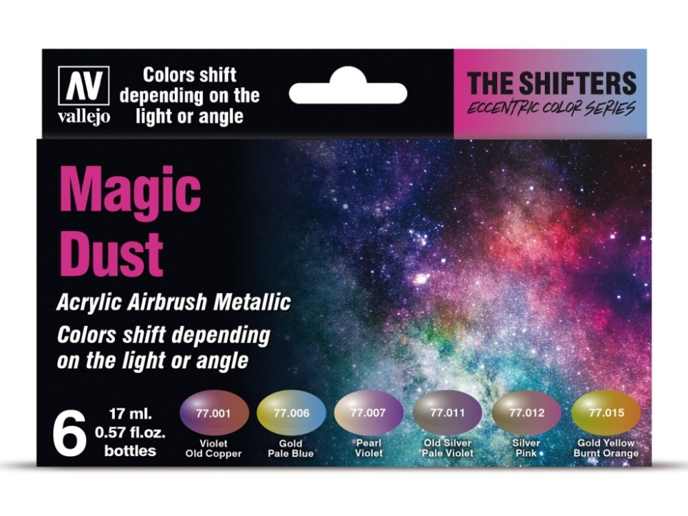 Vallejo The Shifters Set 77090 Magic Dust (6)