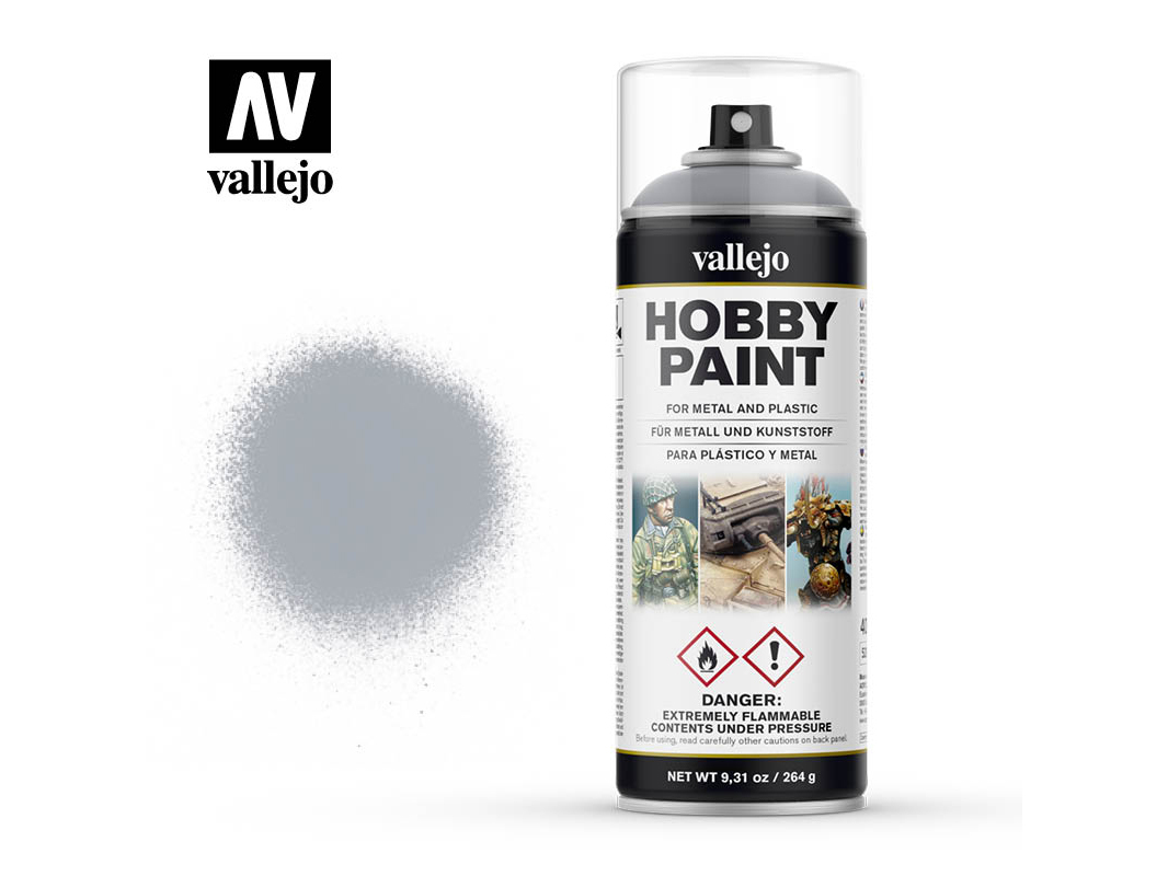 Vallejo Hobby Spray Paint 28021 Silver (400ml)