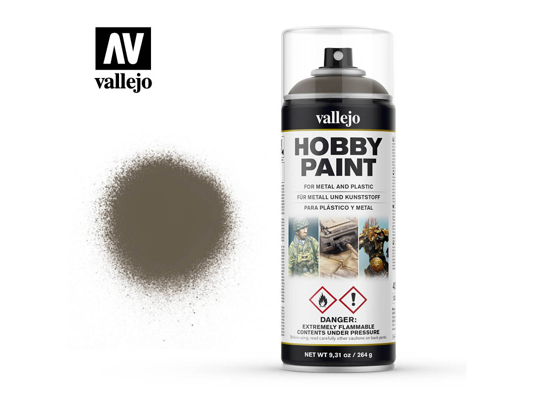 Vallejo Hobby Spray Paint 28005 US Olive Drab (400ml)